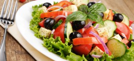 Healthy Salad Recipe (Greek Healthy Salad)