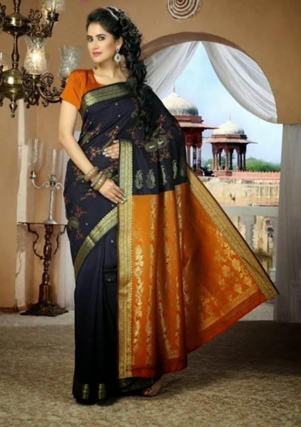 Latest New Indian Saree Style