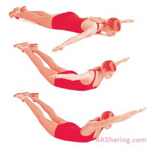 Airplane Extension Workout