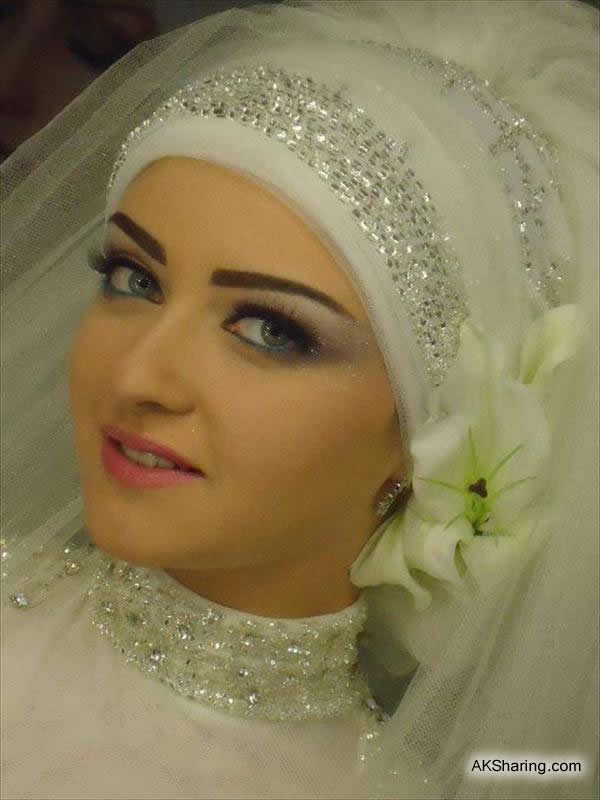 Beautiful Wedding Styles of Hijab