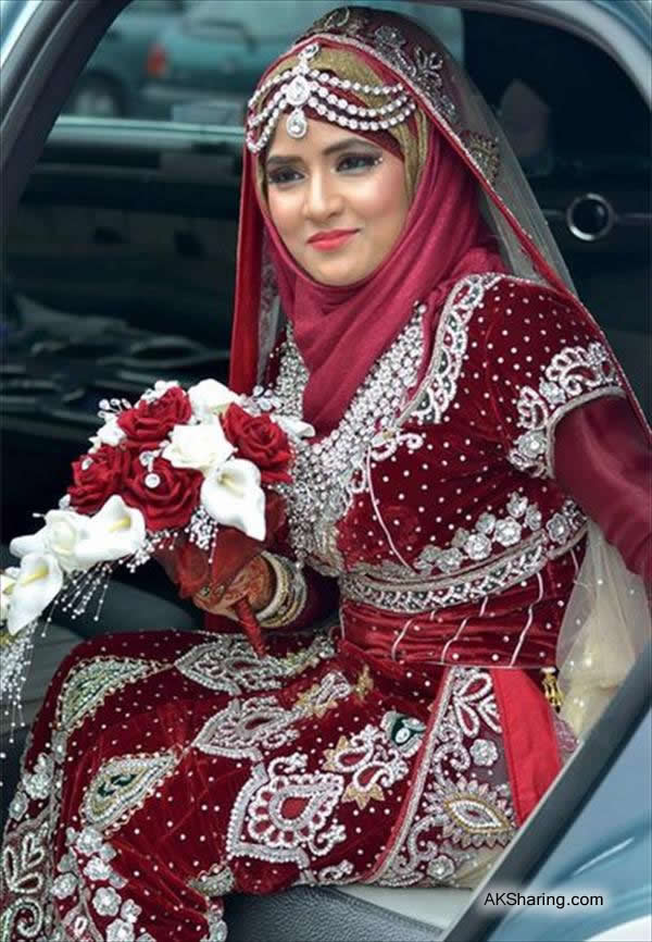 Wedding Styles of Hijab