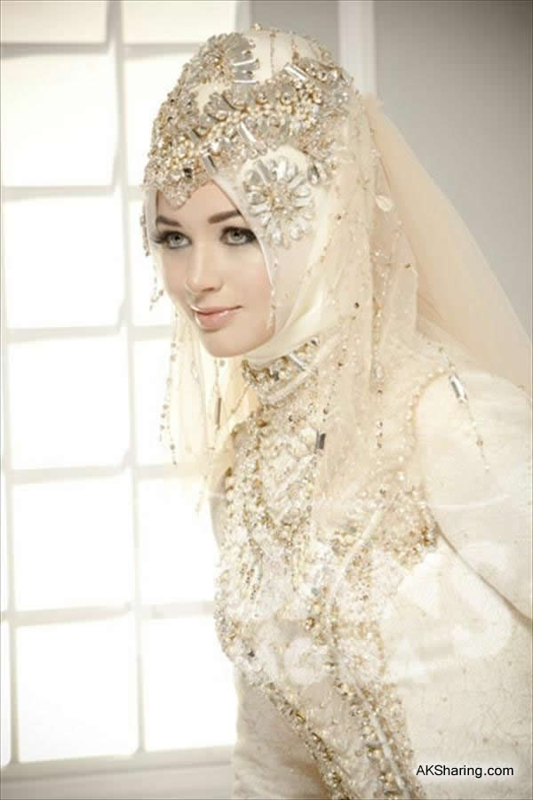 New Wedding Styles of Hijab