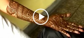Latest Bridal Mehndi Design – Video