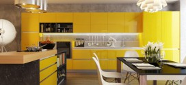 New Contrast For Kitchens