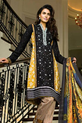 Asim Jofa Lawn Eid Collections 2014