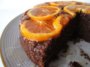 Greek Almond and Orange Cake