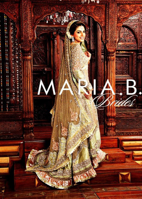 Maria B Gorgeous  Bridal Dresses Collection 2014 2015
