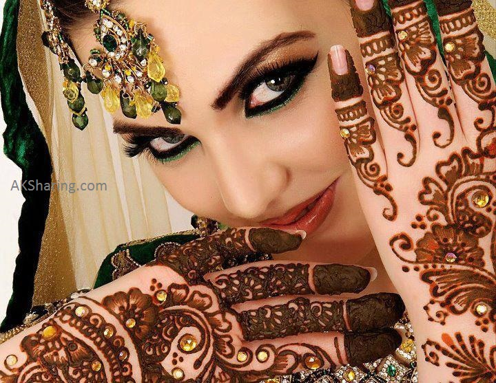 Most Recent Well liked Bridal Mehndi Styles 2014-2015