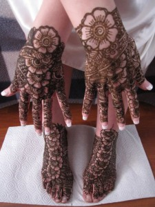 Most Recent Well liked Bridal Mehndi Styles 2014-2015(1)