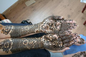 Most Recent Well liked Bridal Mehndi Styles 2014-2015(4)