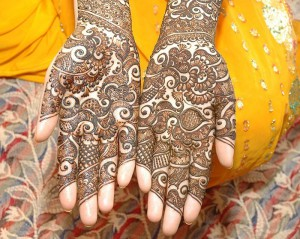 Most Recent Well liked Bridal Mehndi Styles 2014-2015(9)