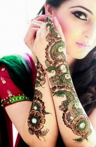 Wedding Mehndi Designs 2014 For Girls