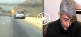 Meet Brave Man Who Stopped 22 Wheeler Trailer with Fail Brakes at Motorway Pakistan