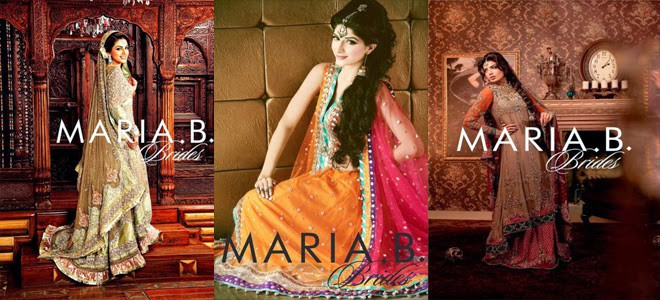 Latest Bridal Collection of Maria. B.