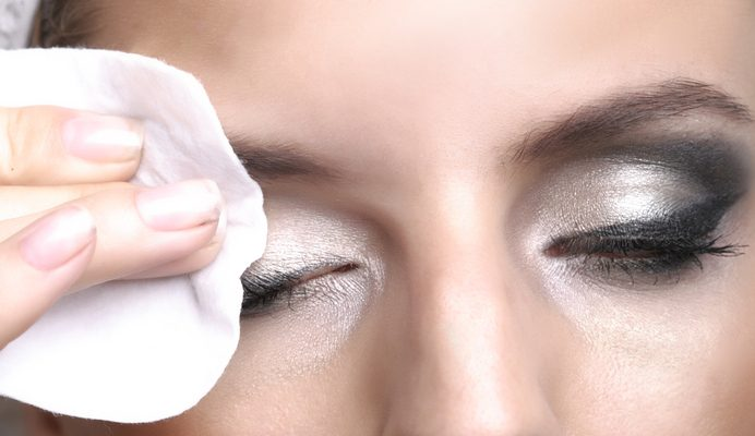 Remove your eye makeup at the end of the day.