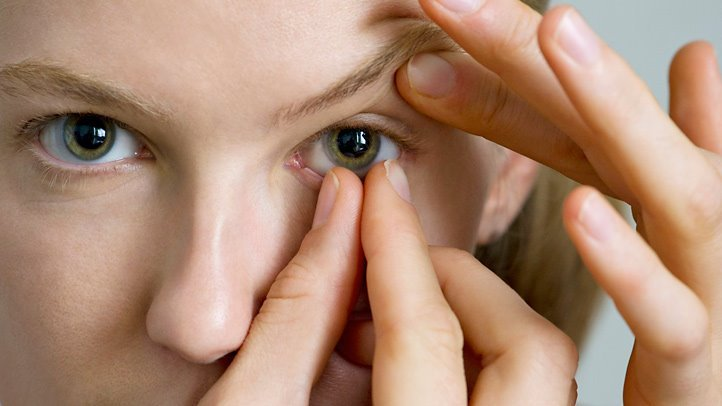 Take your contacts out at the end of the day.